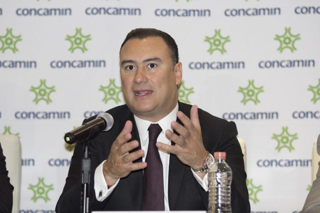 Manuel Herrera Vega, presidente de la Confederación de Cámaras Industriales. @Cuartoscuro.com