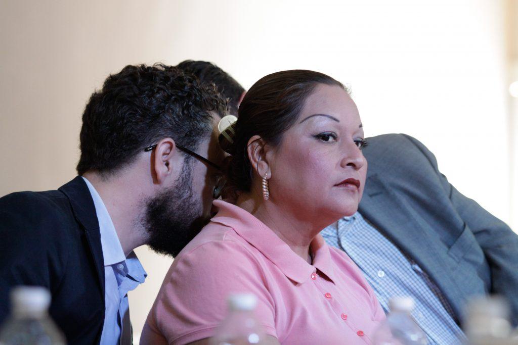 Clara Gómez, principal testigo del caso. CUARTOSCURO.