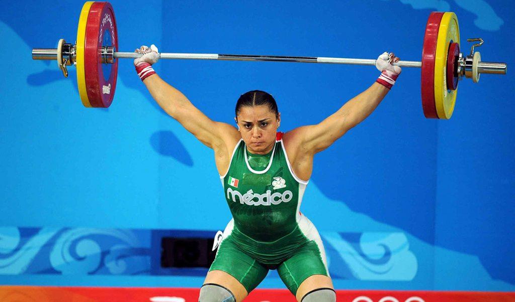 Tras confirmarse el dopaje de tres competidoras, Damaris Aguirre subió del sexto puesto al tercero en la final de 75 kilogramos en los Juegos Olímpicos de Beijing 2008.