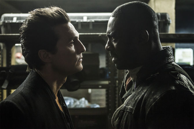 Matthew McConaughey e Idris Elba. @Sony Pictures
