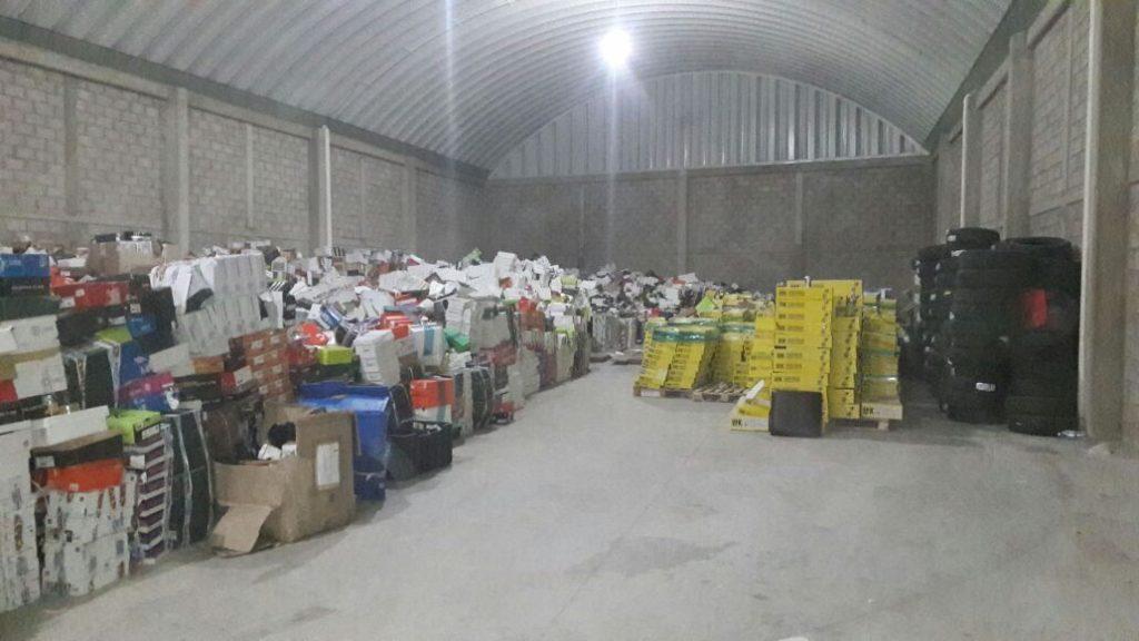 Aseguran en Ecatepec bodega con 10 mdp en mercancía robada