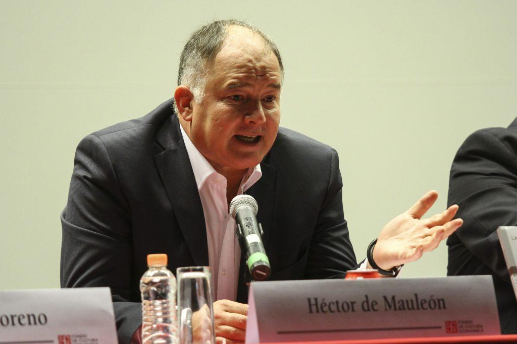 Héctor De Mauleón, escritor y periodista. FOTO: ADOLFO VLADIMIR /CUARTOSCURO