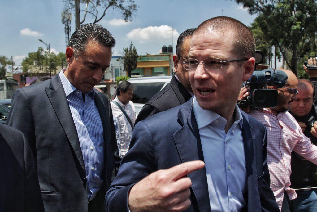 Ricardo Anaya, presidente nacional del blanquiazul. @Cuartoscuro.com