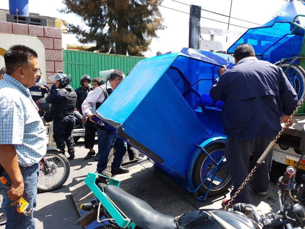 Fotos: Cortesía Secretaria de Movilidad