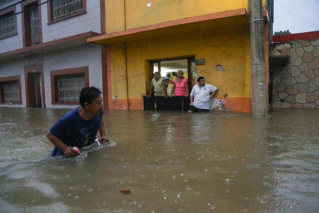 Afectaciones en Campeche. CUARTOSCURO.