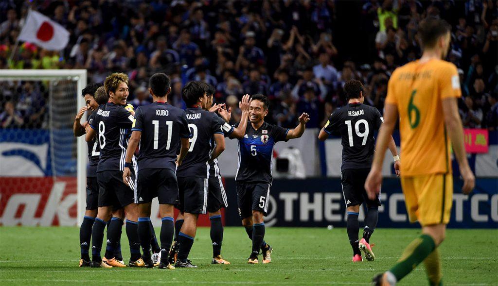 La selección de Japón venció 2-0 a Australia y se convirtió en el tercer equipo en clasificar al Mundial de Rusia 2018.