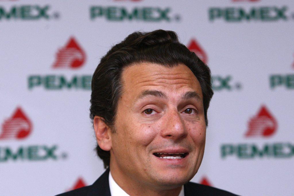 El exdirector de Petróleos Mexicanos, Emilio Lozoya. FOTO: EFE/Alex Cruz/ARCHIVO