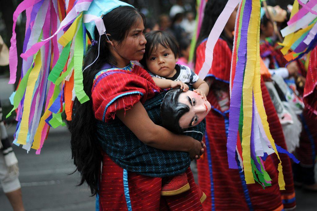Niños en Oaxaca sin actas de nacimiento por leyes disfuncionales. @Cuartoscuro.com