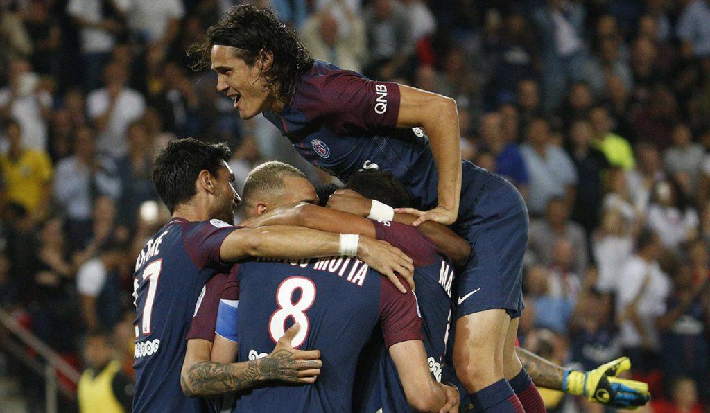 Paris Saint-Germain vence 3-0 al -Saint-Étienne en el inicio de la fecha 4 de la liga francesa.