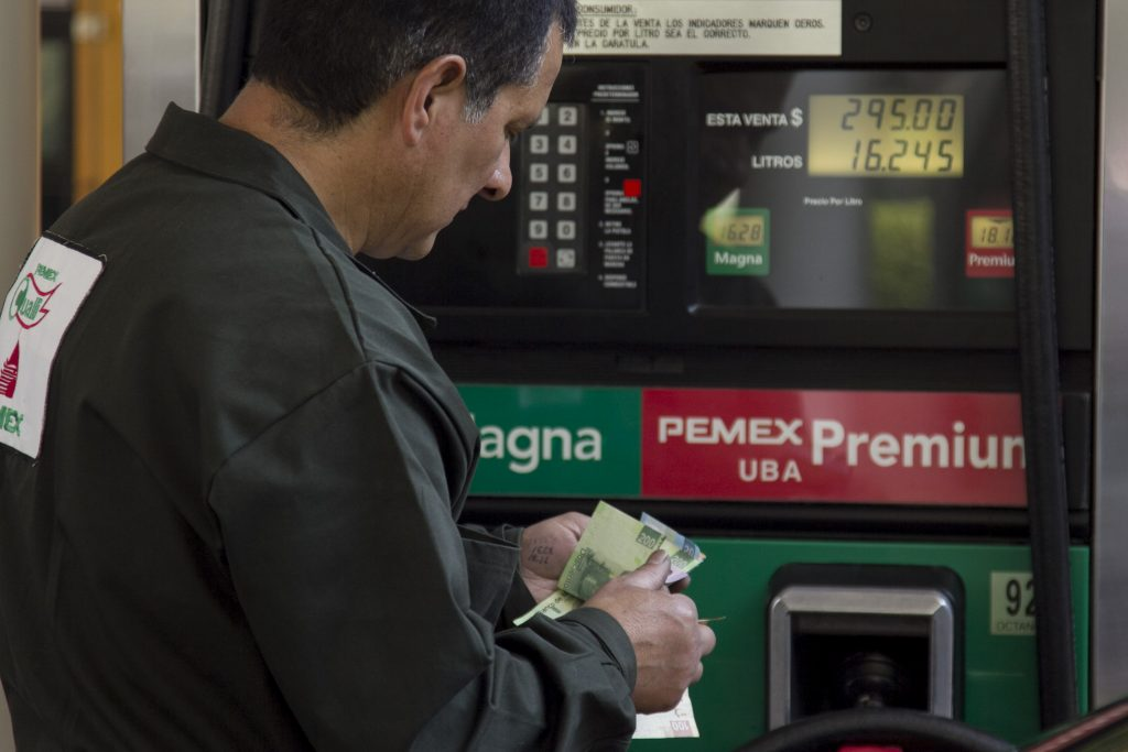 Precio a las gasolinas. @Cuartoscuro.com