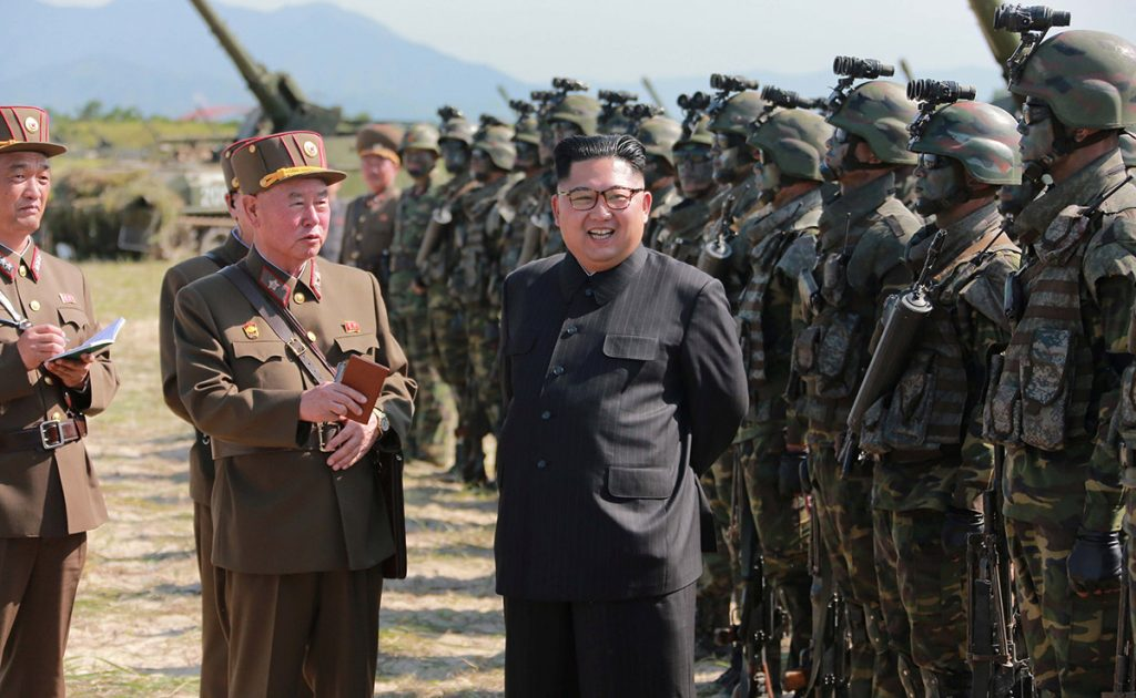 El ejercito de Corea del Norte sigue probando misiles.