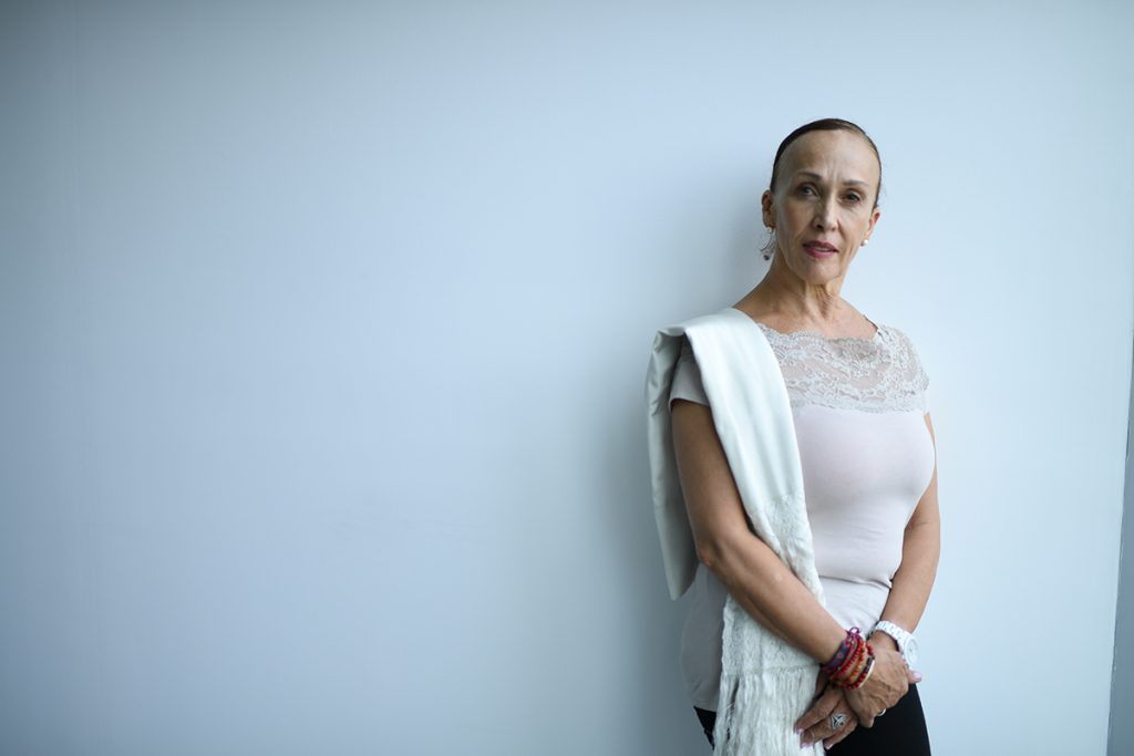 Viviana Basanta rinde homenaje a su madre, Amalia Hernández
