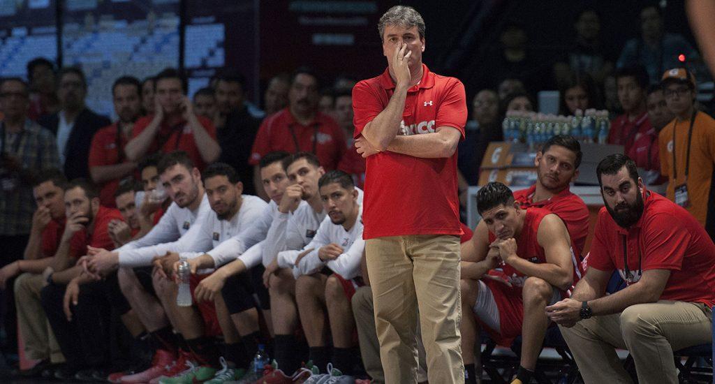 Sergio Valdeomillos, entrenador de la Selección Mexicana de Basquetbol, reconoce que su equipo no ha tenido buena preparación para la Copa FIBA Américas.