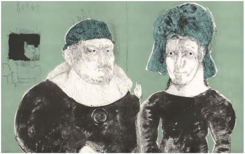 José Luis Cuevas, subastan sus litografías de