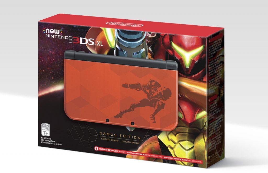 Nintendo diseña la mini consola 3DSXL, acompañada por nuevo Metroid