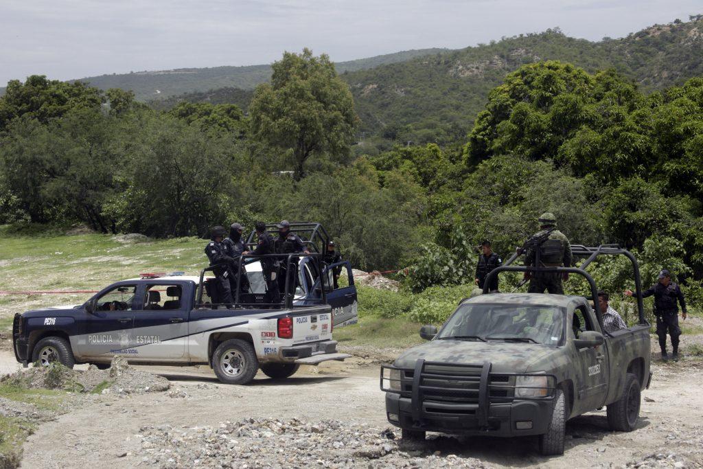 Huehuetlán tras la ejecución del pasado julio. CUARTOSCURO.