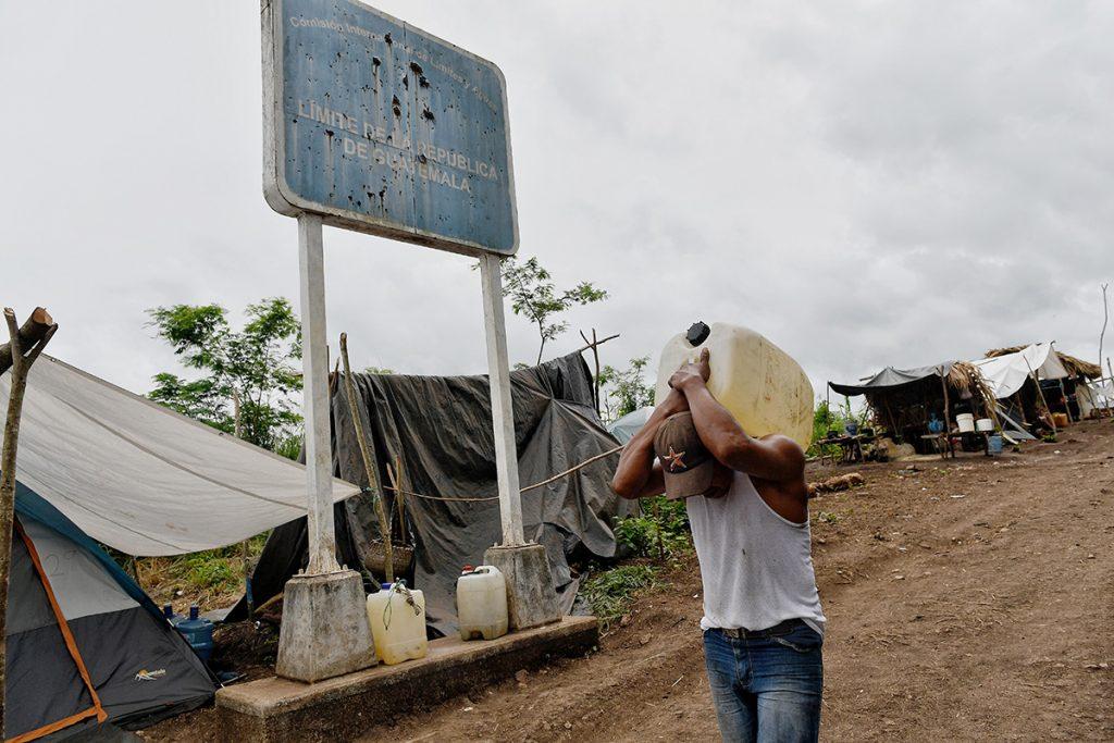 GALERÍA: Los desplazados de Guatemala en México