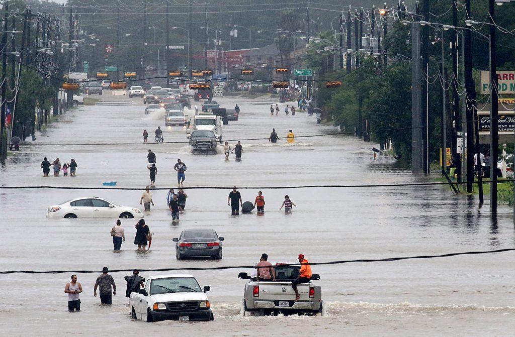 Houston el pasado 27 de agosto. AFP.