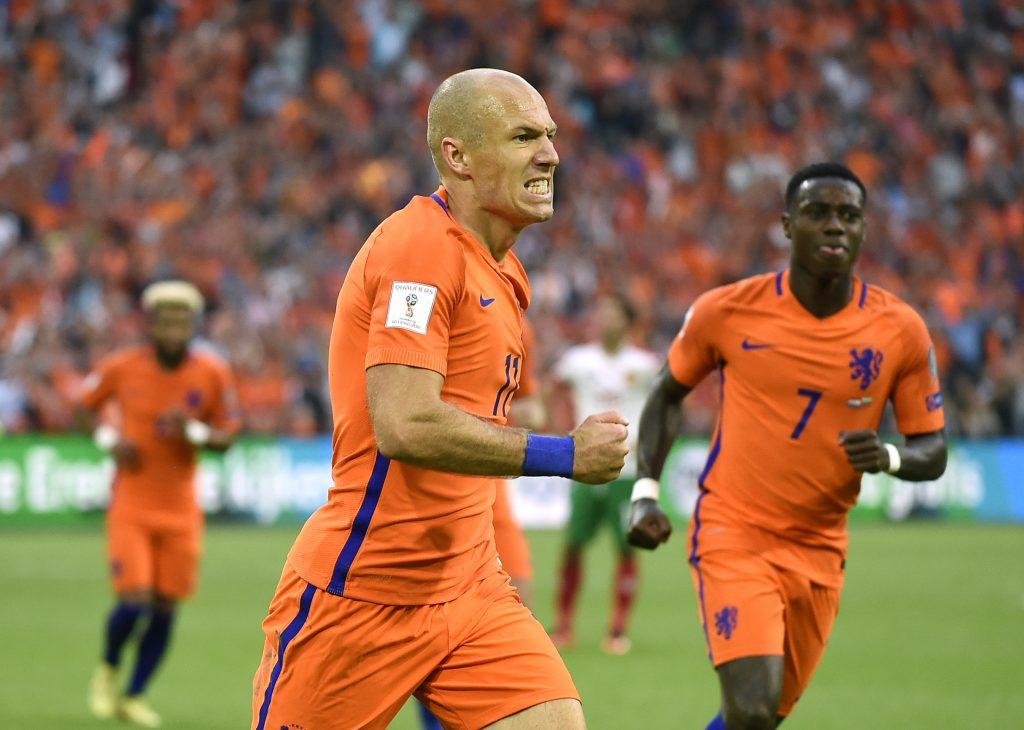 Arjen Robben. @AFP
