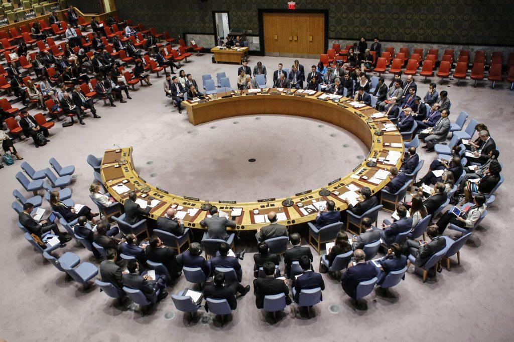 Consejo de seguridad de la ONU. @AFP