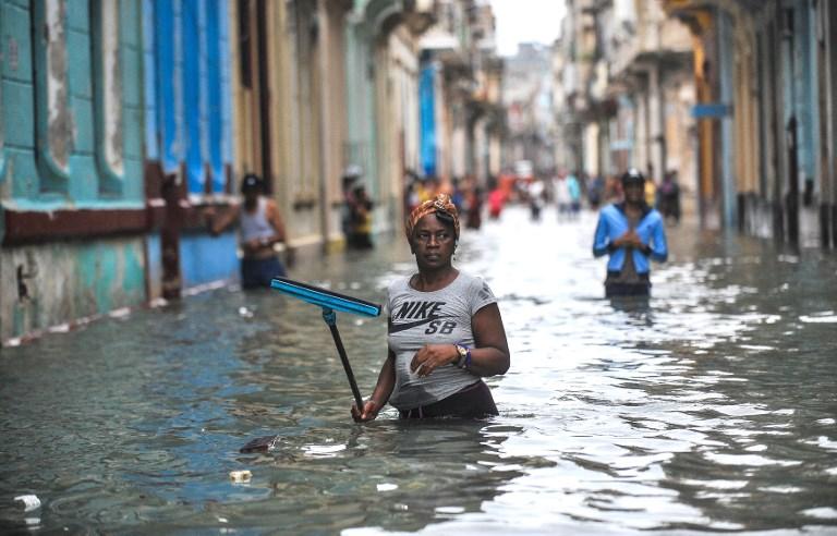 FOTOS: Los daños del huracán Irma en Cuba