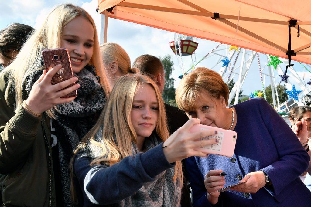 Angela Merkel. @AFP