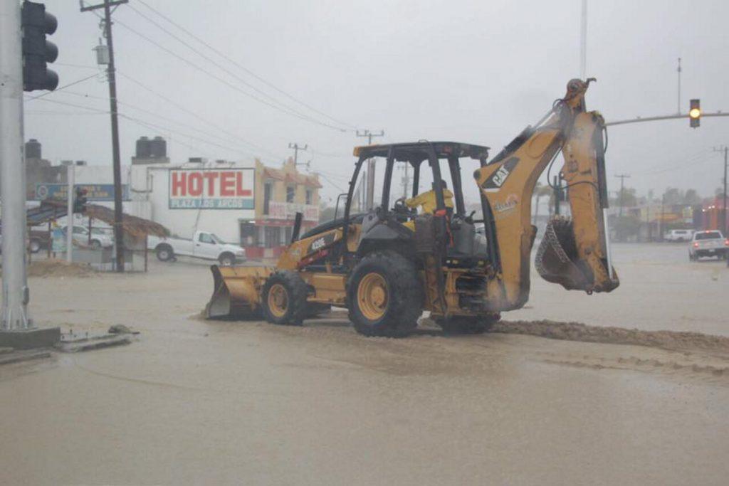 Lidia. Baja California Sur y Sinaloa, en peligro máximo