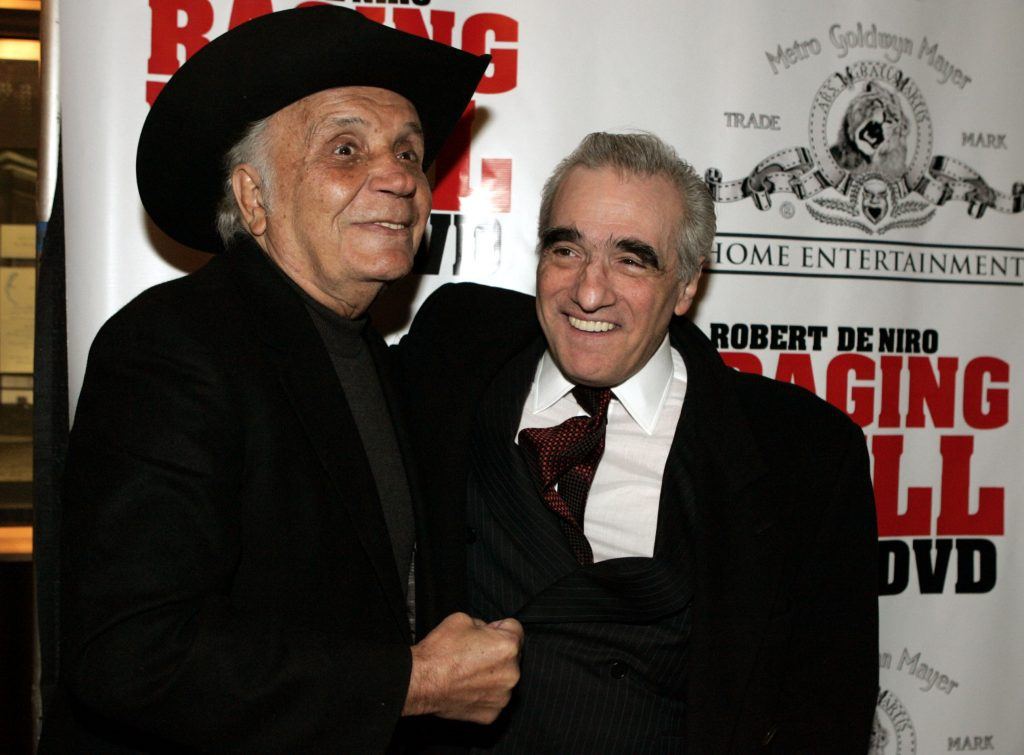 Jame LaMotta, Martin Scorsese. @AP