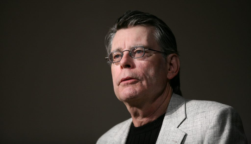 Stephen King. @AP