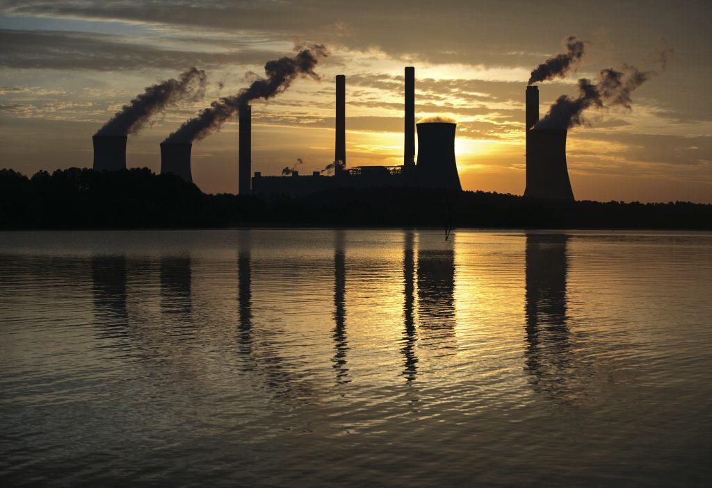 Emisión de dióxido de carbono. @AP