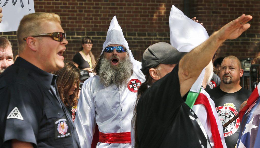 Marcha del KKK. @AP