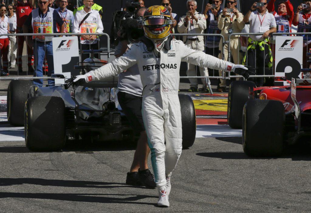 Lewis Hamilton. @AP