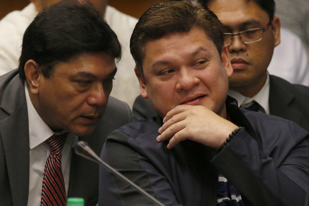 Paolo Duterte, hijo del presidente de Filipinas. @AP
