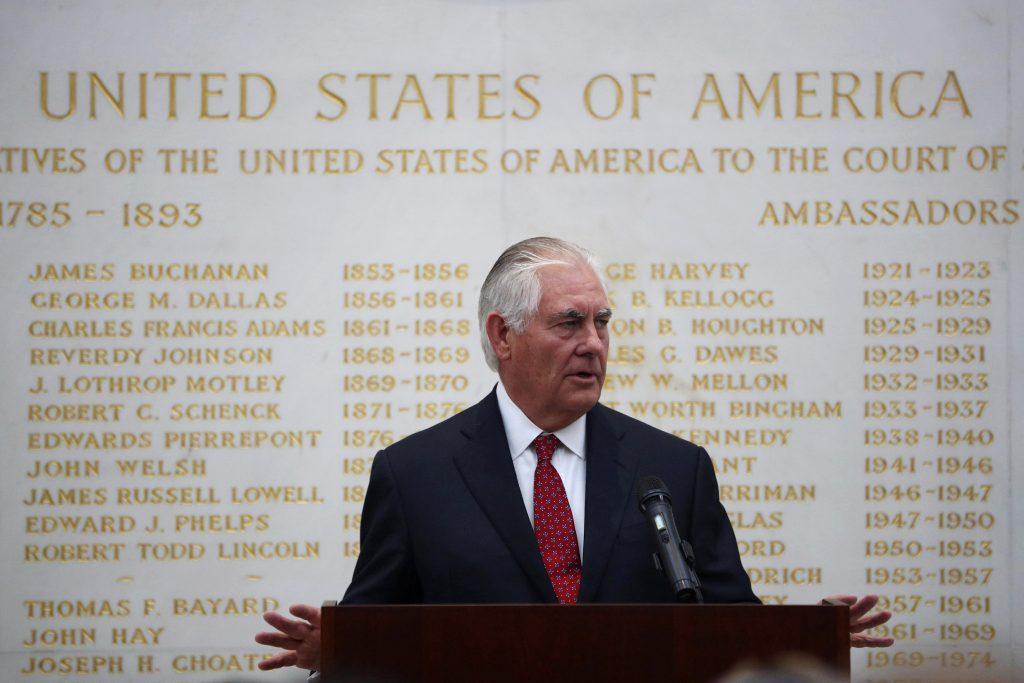 Rex Tillerson. @AP