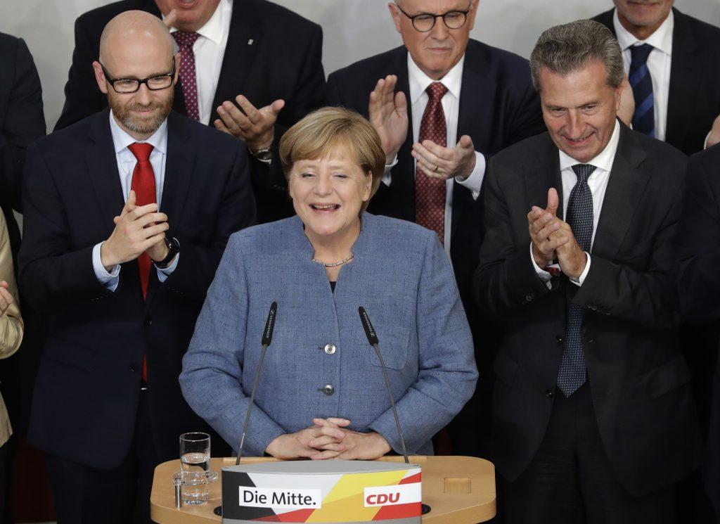 Angela Merkel. @AP