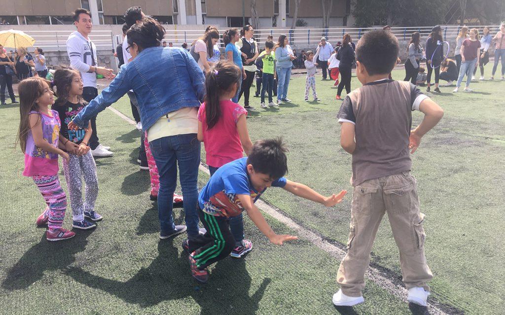 Los niños del albergue de la delegación Benito Juárez dan lección de resiliencia en medio de la tragedia.