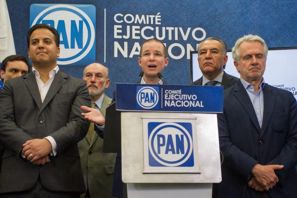 Ricardo Anaya, líder nacional del PAN. @Cuartoscuro.com