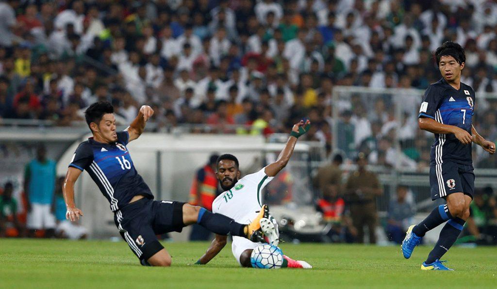 La selección de Arabia Saudita venció 1-0 a Japón y se clasificó al Mundial de Rusia 2016, mandando a Australia a repechaje asiático contra Siria.