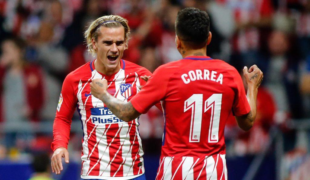 Con solitario gol de Antoine Griezmann, Atlético de Madrid venció 1-0 al Málaga, en la inauguración del estadio Wanda Metropolitano.