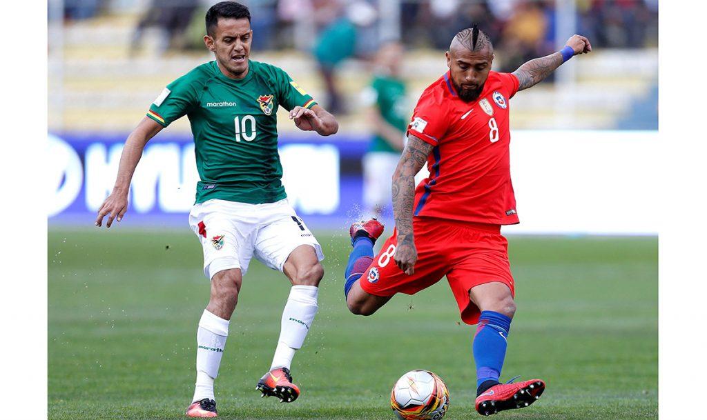 La selección de Chile sucumbió 1-0 ante Bolivia en La Paz y ha complicado su clasificación directa para el mundial de Rusia 2018.