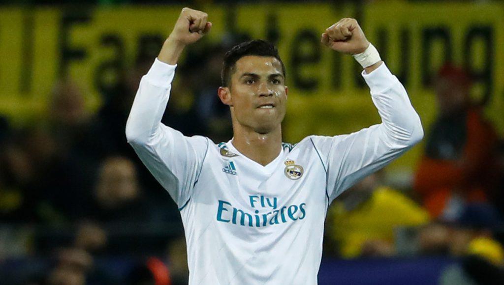Con doblete de Cristiano Ronaldo, Real Madrid venció 3-1 al Borussia Dortmund en el Westfalen Stadion.