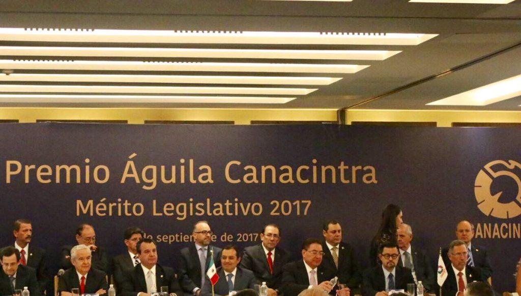 Canacintra reconoce a legisladores