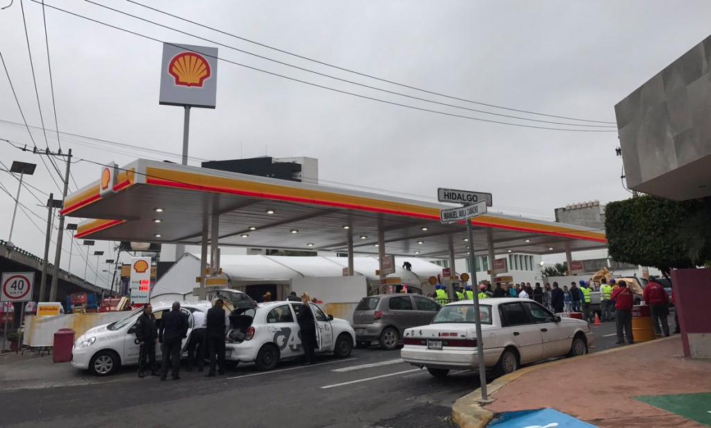 Shell inaugura su primera gasolinería en Tlalnepantla, Estado de México
