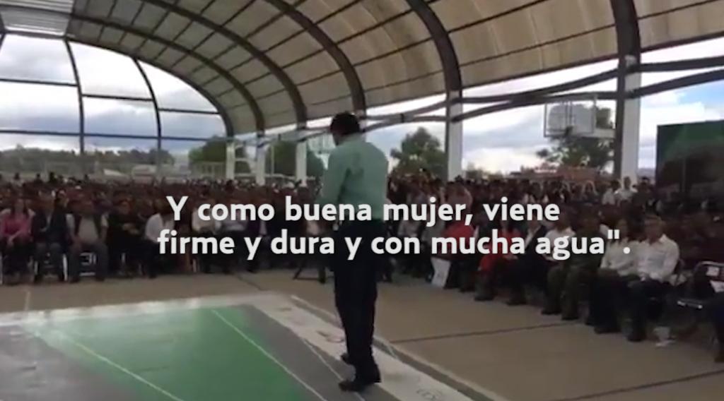 Osorio Chong compara a mujeres con huracán Katia