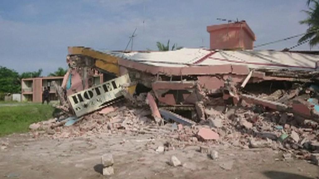 Potente sismo sacude al sur de México