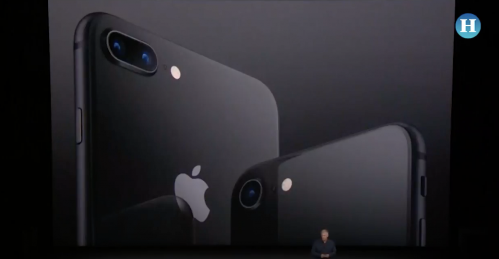 Apple revela el iPhone 8 y el iPhone 8 Plus