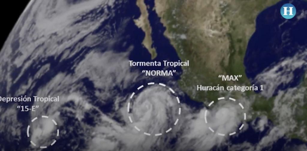 Temporada de huracanes afectan a México