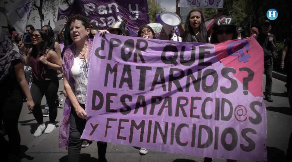 Marcha exige justicia para Mara Castilla