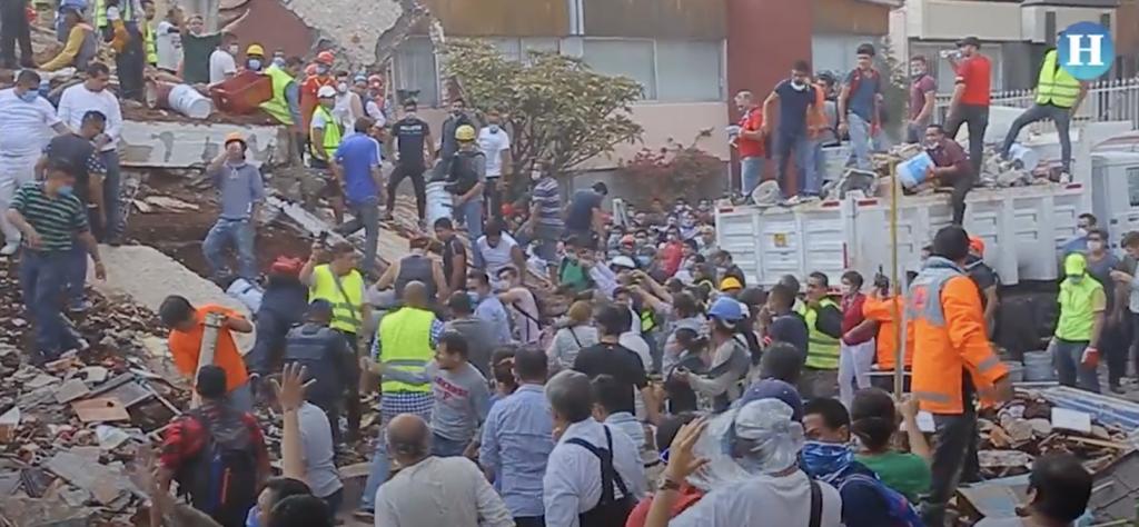 Sismo CDMX: Daños y derrumbes en varias zonas de la Ciudad de México