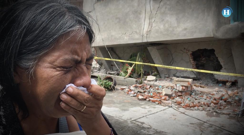 Historias del sismo: Dio la vida por su hijo y su mamá